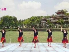 苏州盛泽雨夜广场舞《我在这里你在哪里》原创舞蹈 附正背面口令分解教学演示