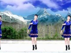 太湖一莲广场舞《草原花》原创时尚草原舞 附正背面口令分解教学演示