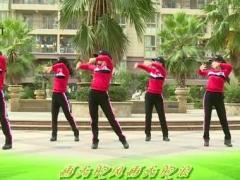 杨丽萍广场舞《爱在草原》原创民族健身操 附正背面口令分解教学演示