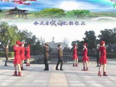 动动广场舞《兄妹情深》12人变队形