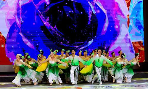 连云港供电在排舞广场舞比赛中获大满贯