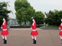 太湖一莲广场舞《爱情雨夹雪》原创时尚健身舞32步 口令分解动作教学演示