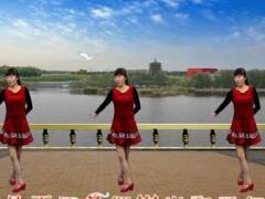 龙游红飞舞广场舞《寂寞的天相思的雨》原创抒情步子舞 正背面分解动作教学