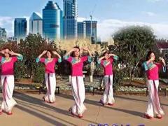 游城广场舞《今生只为你邂逅》原创舞蹈 完整版演示及分解教学演示
