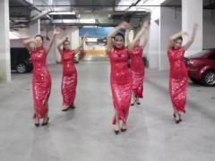 温州燕子广场舞《C哩C哩》两个风格跳 正反面演示及分解动作教学