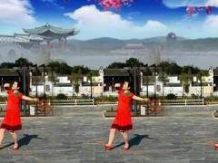 陈瑶湖天使广场舞《我的九寨》原创舞蹈 正背面分解演示