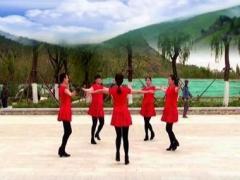 济南朵朵广场舞《一起跳舞吧》原创5人队形版 正背面口令分解动作教学