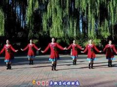 云裳馨悦广场舞《秀美三都》原创苗族舞 编舞沚水 附口令分解动作教学演示