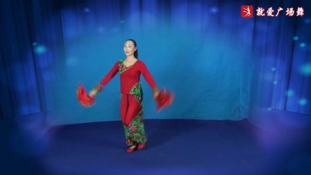 晓静广场舞《月牙五更》原创舞蹈 正反面演示及分解动作教学