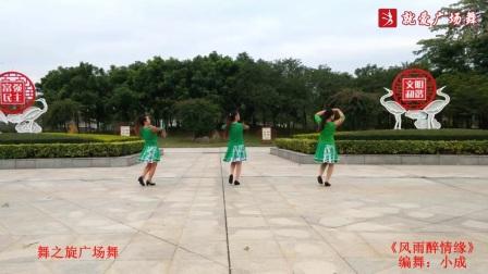 舞之炫广场舞《风雨醉情缘》原创舞蹈 附正背面口令分解教学演示
