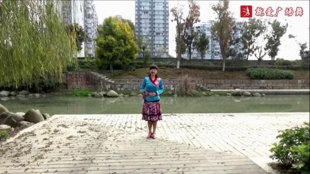 谢春燕广场舞《丹东的姑娘》原创舞蹈 附正背面口令分解教学演示