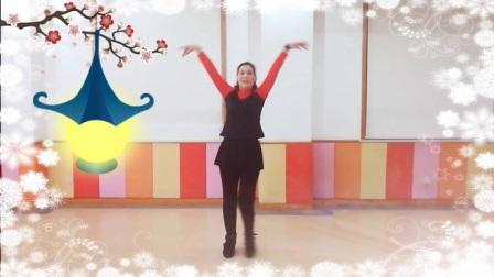 阿文贝贝广场舞《爱注定要分手》原创舞蹈 口令分解动作教学演示