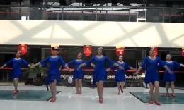 绣舞动广场舞《美丽的雪山姑娘》编舞重庆叶子 团队演示
