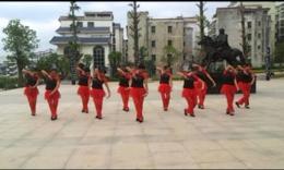 宜章御景园玲儿广场舞《歌在飞》原创舞蹈 团队演示