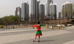 沭河之光广场舞《唱给卓玛姑娘》原创舞蹈 附正背面演示分解教学