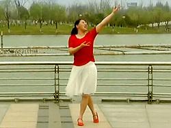 糖豆广场舞课堂《小小草》编舞青儿 团队正面演示 附口令分解教学