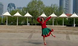 精灵宝贝广场舞《莫尼山》编舞艺子龙 正背面演示