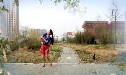绿茶和谐队广场舞《女神我的爱》原创舞蹈 附正背面口令教学