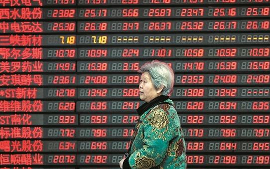 """中国大妈挺进""""股市"""",说好的广场舞呢!"""