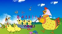 高安子君广场舞《小鸡小鸡》原创舞蹈 附背面分解动作教学演示