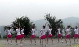 吉美广场舞《从此心里永远有个你》原创舞蹈 团队正背面演示
