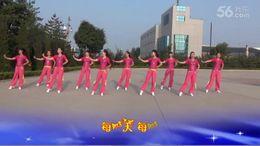 洛川梦之舞广场舞《就这个调调》编舞応子 团队演示