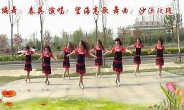 南京青扬广场舞《我爱广场舞》编舞春英 团队演示