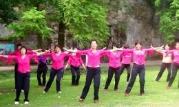 大湾群联广场舞《兄弟到永远》原创舞蹈 附正背面分解教学演示