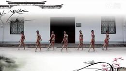 応歌燕舞南京队《旗袍赋》原创舞蹈 团队演示 附正背面口令分解教学