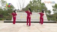 杨丽萍广场舞《幸福跳起来》原创舞蹈 团队演示 附正背面口令分解教学
