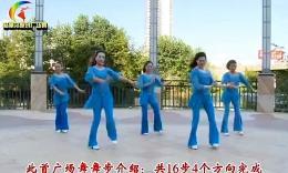 杨丽萍广场舞《大声唱》原创舞蹈 团队正背面演示