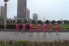 吉美广场舞《红珊瑚》编舞索洁 团队演示