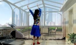 清舞广场舞《恋歌》原创舞蹈 附分解动作教学