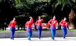 玉米广场舞《错误的爱》编舞亢龙无悔 团队演示