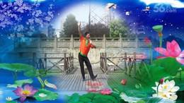 凤凰六哥广场舞《山歌牵出月亮来》原创舞蹈 附正背面口令分解教学演示