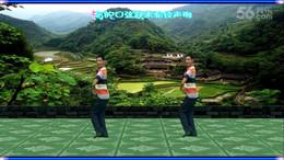 凤凰六哥广场舞《回乡姑娘》原创舞蹈 附正背面口令分解教学演示
