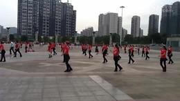 俏木兰广场舞《36步恰恰》原创舞蹈 团队演示