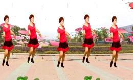 福清清荣花园广场舞《向上攀爬》编舞雯雯 正背面演示