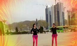 紫冰广场舞《燃烧吧蔬菜》原创健身舞 正背面演示