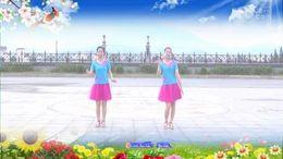江西莲花紫晨健身队《要做就做辣妈》编舞兴梅 正背面演示