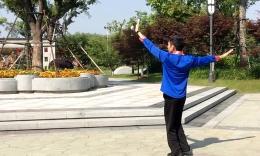 郑公子广场舞《高原恋歌》原创舞蹈 附正背面分解教学演示