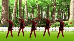 沅陵姐妹广场舞《燃烧吧蔬菜》原创舞蹈 正背面演示