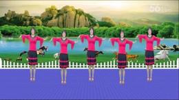 全椒管坝凤妹广场舞《哥哥妹妹》原创舞蹈 正背面演示