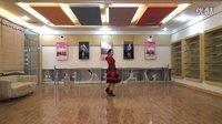 美久广场舞《自由自在》原创舞蹈 附正背面口令分解教学演示