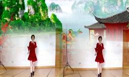福清清荣花园广场舞《燃烧吧蔬菜》编舞兴梅 正背面演示