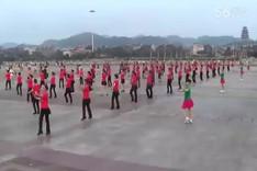 吉美广场舞《感到幸福你就拍拍手》原创舞蹈 团队演示