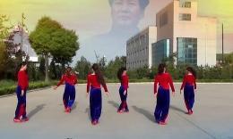 洛川梦之舞广场舞《东方红》编舞艺莞儿 团队演示