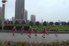 吉美广场舞《雪山阿佳》原创舞蹈 团队演示