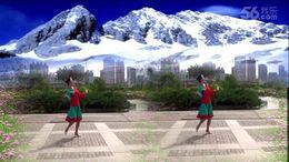蔻蔻广场舞《雪山姑娘》编舞格格 团队演示