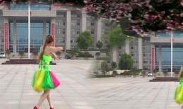阿梅广场舞《火火的情郎》原创舞蹈 团队演示 附正背面分解教学
